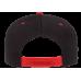 Кепка FlexFit 6089MT - Classic Snapback Black/Red